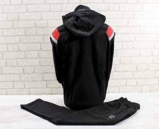 Мъжки спортен екип  черен DOKY-26790