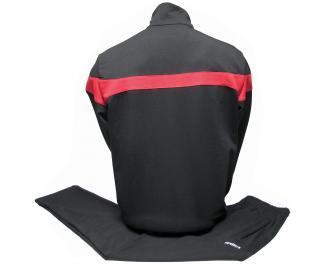 Мъжки спортен екип памук черен PAJM-21974