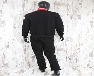 Мъжки спортен екип памук червено/черно NCOT-23242