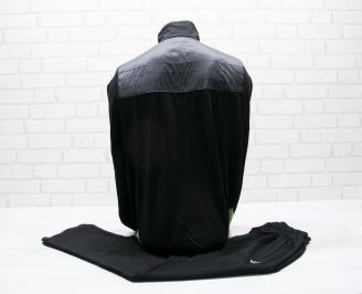Мъжки спортен екип памук черен YUGW-25029