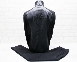 Мъжки спортен екип памук черен ISNB-25667