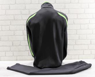 Мъжки спортен екип памук черен XKFZ-26764