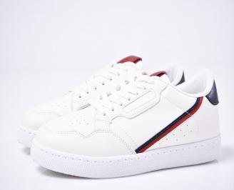 Мъжки спортни обувки бели OAJO-1014253