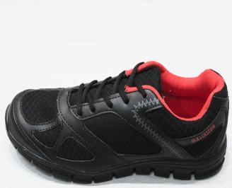 Мъжки спортни обувки BULLDOZER еко кожа/текстил черни VXEN-23205