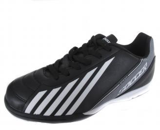 Мъжки спортни обувки Bulldozer черни еко кожа TBCM-19372