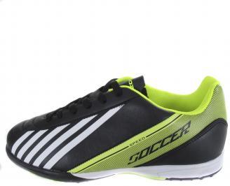 Мъжки спортни обувки Bulldozer черни еко кожа VPWB-19373