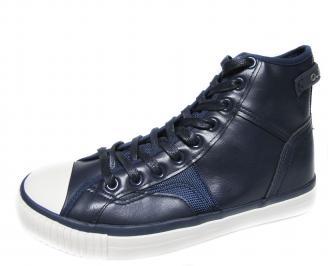 Мъжки спортни обувки Bulldozer еко кожа тъмно сини WFYS-19988