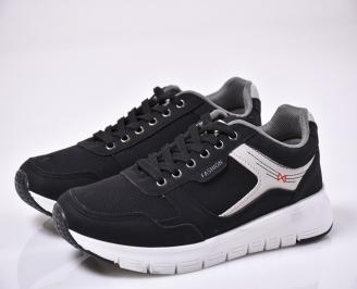 Мъжки спортни обувки черни ALSO-1014101