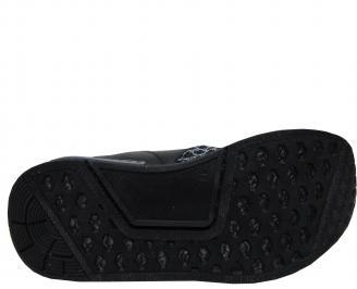 Мъжки спортни обувки черни текстил 5