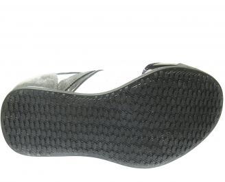 Мъжки спортни обувки естествена кожа бели KGFK-11644