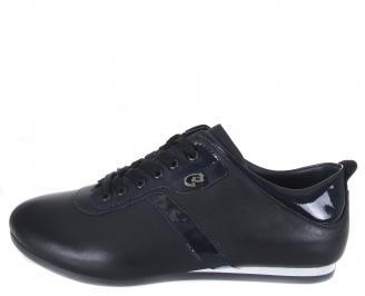 Мъжки спортни обувки естествена кожа сини RLJV-18559