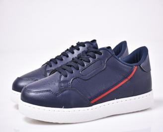 Мъжки спортни обувки сини WMIJ-1014252