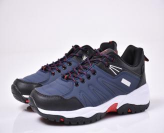 Мъжки спортни обувки сини UKWZ-1014279