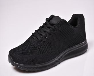 Мъжки спортни обувки текстил черни VIGA-1010325