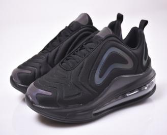 Мъжки спортни обувки текстил черни QFMS-1013503