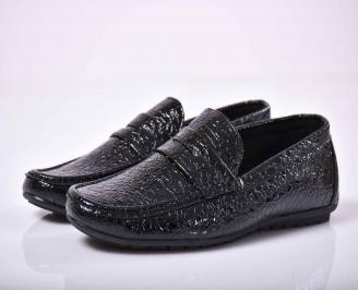 Мъжки спортно елегантни обувки  черни   GMGC-1015864