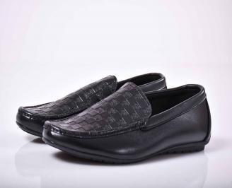 Мъжки спортно елегантни обувки  сини   NLRA-1015867