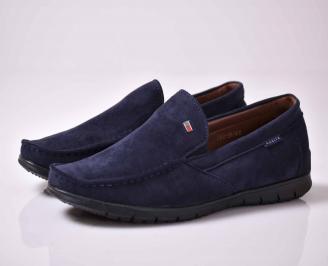 Мъжки спортно елегантни обувки сини    YYDG-1015911