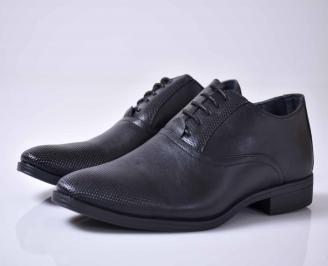 Мъжки спортно елегантни обувки черни  YTJD-1015912