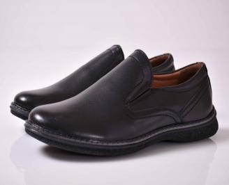 Мъжки спортно елегантни обувки черни  EXPW-1015924