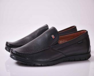Мъжки спортно елегантни обувки черни  XFBQ-1015994