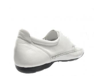 Мъжки спортно елегантни обувки естествена кожа PWVO-12499
