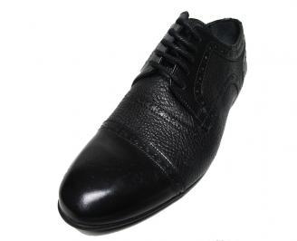 Мъжки спортно елегантни обувки естествена кожа MOCI-15778