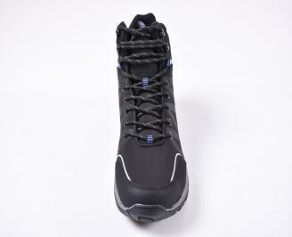 Мъжки зимни боти  черни KFKU-1010832