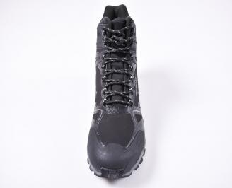 Мъжки зимни боти-Гигант  черни KYAV-1010828