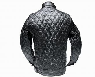 Мъжко  яке- еко кожа черно OGDK-20721