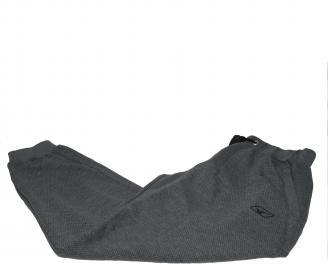 Мъжко спортно долнище сиво памук VYOZ-20316