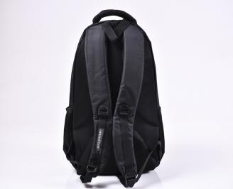 Раница  текстил  черна TIES-1010200