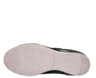 Спортни обувки от естествена кожа сиви TNBA-10060