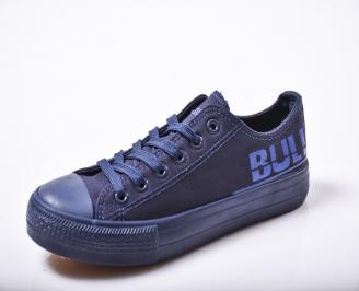 Юношески гуменки   текстил сини PDMM-1010159