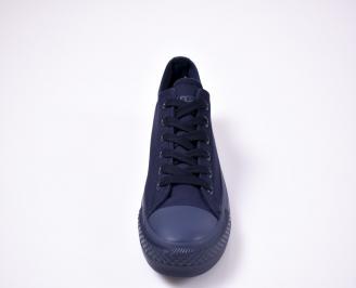 Юношески гуменки   текстил сини ZZGC-1012363