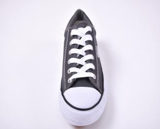 Юношески гуменки  текстил сиви QTFS-1012715