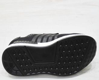 Юношески маратонки  Bulldozer текстил черни HPXF-23172
