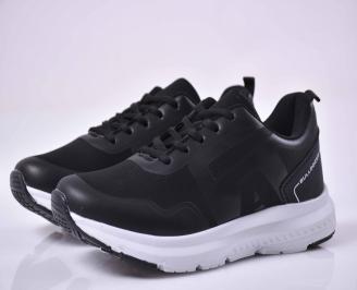 Юношески маратонки черни  NIZK-1015049