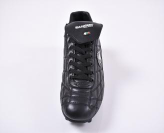Юношески  маратонки   еко кожа черни HOOS-1011186