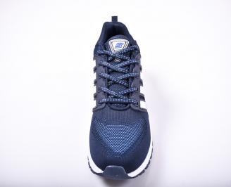 Юношески  маратонки   текстил  сини SYAT-1011718