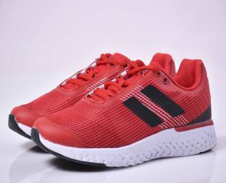 Юношески  маратонки  текстил червени UGSE-1015050