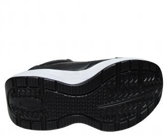 Юношески обувки Bulldozer еко кожа черни MLQP-22021