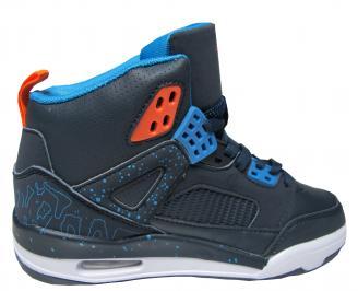 Юношески обувки Bulldozer еко кожа тъмно сини YYBH-22028