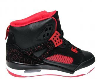Юношески обувки Bulldozer еко кожа черни BZAG-22036