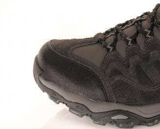 Юношески обувки Bulldozer естествен велур сиви 2