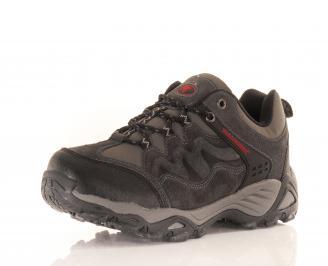 Юношески обувки Bulldozer естествен велур сиви 3