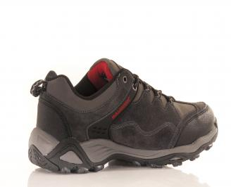 Юношески обувки Bulldozer естествен велур сиви 4