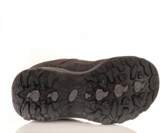 Юношески обувки Bulldozer естествен велур сиви 5