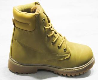 Юношески  обувки Bulldozer  еко кожа кафяви MAEQ-25078
