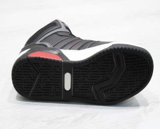 Юношески  обувки Bulldozer  еко кожа черни PIGZ-25100